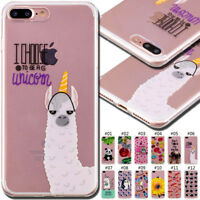 For Apple iPhone 7 Plus/8 Plus Cute Rubber Gel Soft Cover Case Silicone TPU Skin