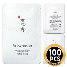 Sulwhasoo Snowise Brightening Cleansing Foam 5ml x 100pcs (500ml) Newist Version
