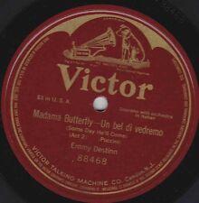 Emmy Destinn on 78 rpm Victor 88468: Madama Butterfly-Un bel di vedremo