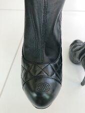 Women's Shoes, Chanel, lambskin leather
