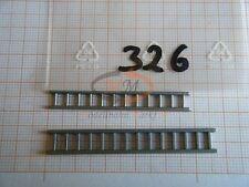 2 x Wiking Ersatzteil Ladegut Leitersatz WM 62n Feuerwehr IMU H0 1:87 - 0326