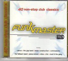(EV444) Funkmaster Mix, 40 tracks various artists - 1996 double CD