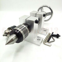 Rotary Tailstock Clamping 1.5-13mm Mini Lathe Morse 3 for DIY Woodworking Lathe