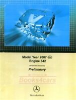 MERCEDES 642 CDI DIESEL REPAIR SHOP SERVICE INTRO MANUAL ENGINE BOOK