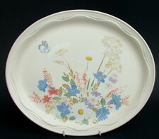 Poole Springtime Pattern Large Size Oval Serving Platter 35cm - Looks in VGC