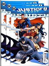 3x)JUSTICE LEAGUE: REBIRTH #1(9/16)MADUREIRA VARIANT(ERROR COPIES)BATMAN(CGC EM)