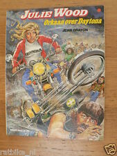 DUTCH COMIC JULIE WOOD ORKAAN OVER DAYTONA JEAN GRATON 1980 HONDA BIKE