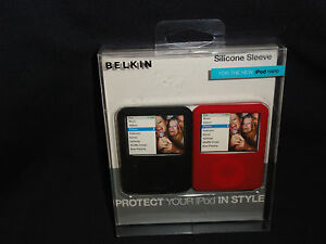 iPod nano 3G, Silicone Sleeve Leather Folio Case for by Belkin