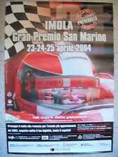 MANIFESTO LOCANDINA  IMOLA GRAN PREMIO DI S.MARINO 2004 ( m34-25)
