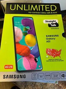 Wholesale lot 4 of new phones STRAIGHT TALK,  SAMSUNG GALAXY A51***** READ******