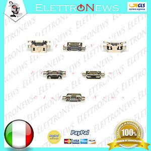 Connettore di ricarica spinotto carica Micro usb Plug-in per archos 50b platinum