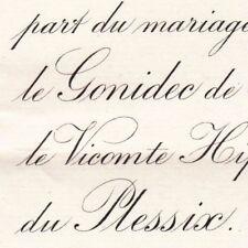 Paule Le Gonidec De Traissan Laval Mayenne 1895 Hippolyte De Parscau Du Plessix