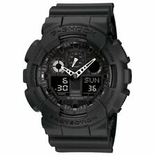 Casio G-SHOCK GA100-1A1 X-Large Analog-Digital BLACK OPS 200m Men's Watch