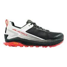 Men's Altra Footwear Olympus 4 Trail Running Shoe Black/White Size 10.5 M