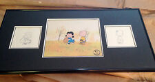 Lucy & Charlie Brown Original Hand-inked Cel