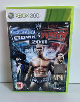 WWE Smackdown vs Raw 2011 XBOX 360 Video Game Original TESTED AND WORKING