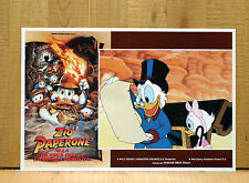 ZIO PAPERONE ALLA RICERCA DELLA LAMPADA PERDUTA fotobusta Disney Treasure C31