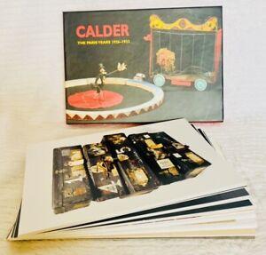 Calder The Paris Years 1926-1933 Abstract Circus Photo Postcards Set/25 2008