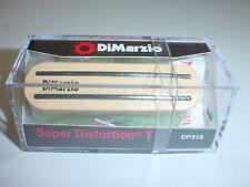 DIMARZIO DP318 Super Distortion T Tele Electric Guitar Pickup - CREME