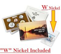 2020 S US Mint 11-Coin Proof Set w/ W nickel & AB QUARTERS w/Box/COA 20RG