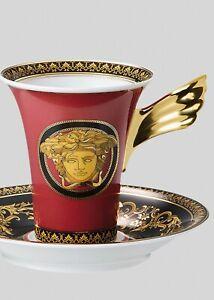 197€ ** VERSACE ROSENTHAL Ikarus Tasse Cafè Medusa (NEUF)