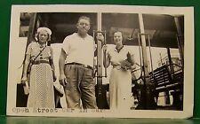 1937 OLD STREET CAR VIRGIN ISLANDS CARACAS SOUTH AMERICA S.S. ROTTERDAM PHOTO