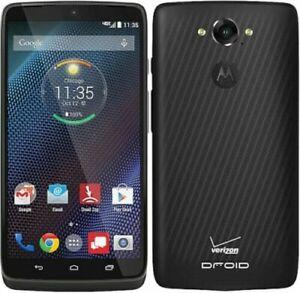 Motorola DROID Turbo XT1254 Black (Verizon)(Tmobile) 4G/GSM Unlocked Cell Phone