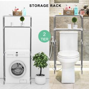 Rack Over Toilet/Bathroom/Laundry/Washing Machine Unit Organizer   LL