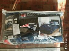Twin Size Nfl New England Patriots Team Bed In Bag Comforter Bedding Set 4 Piece