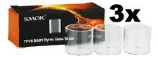 3 X Steamax/Smok Ersatzglas für TFV8 Baby Tank/Verdampfer 3ml