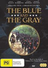 THE BLUE AND THE GRAY :COMPLETE MINI SERIES   - DVD - UK Compatible -sealed