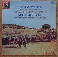 Sir William Walton - Music For Shakespeare Films - HMV Digital DMM EL 27 0118 1