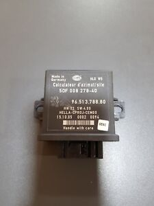 PEUGEOT 407 3.0 COUPE 05-2012 YEAR HEDLIGHT CONTROL MODULE HELLA 9651378880