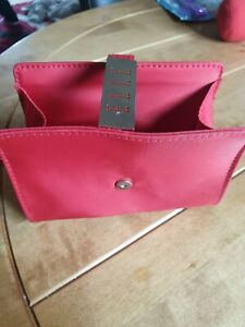 Small Elle Red Cosmetic Bag