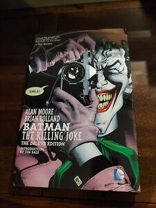 MINT Batman: The Killing Joke Deluxe Edition Hardcover Alan Moore