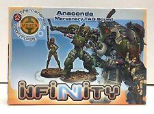 Corvus Belli Infinity Anaconda TAG Squad NEW!
