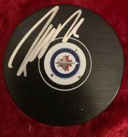 Patrik Laine Winnipeg Jets Autographed Signed Official Game Puck