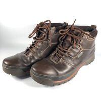 CLARKS Men's Narly Trail GTX Leather Dark Brown Walking Goretex Boot Size 7G VGC