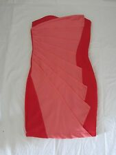Shades of Coral Origami Dress