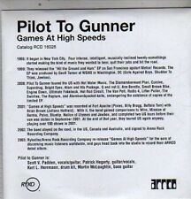 (DE512) Pilot To Gunner, Games At High Speeds - 2002 DJ CD