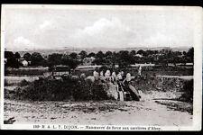 CARRIERES d'AHUY (21) 186° R.A.L.T. DIJON / MILITAIRE avec CAMION & CANON