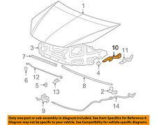 Pontiac GM OEM 05-10 G6 Hood-Hinge Left 15143683