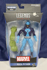 Hasbro Marvel Legends Series Rock Python 6-inch Build A Figure Hulk Action Fig