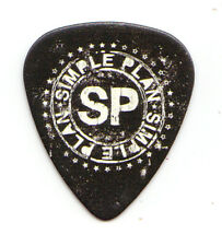 Simple Plan Logo Promotional Guitar Pick