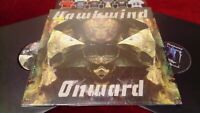 HAWKWIND - ONWARD - BARELY USED DOUBLE LP IN GATEFOLD SLEEVE WITH MERCH SHEET