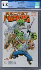 SECRET WARS (2015) # 4 Hastings Edition Variant Cover CGC 9.8