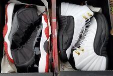 Nike Air Jordan 11 12 Countdown Collezione Pack Bred Taxi Sz 5.5Y GS 338150 991