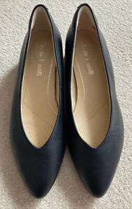Clarks Black Leather Pure Sence Court Shoes 5/38 Worn Once