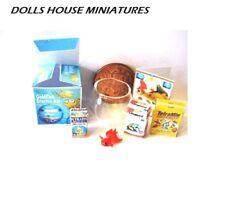 GOLDFISH STARTER KIT 1 12/TH SCALE  DOLLS HOUSE MINIATURE