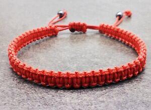 Mens string bracelet thread cuff braided woven bangle wristband jewelry cord men